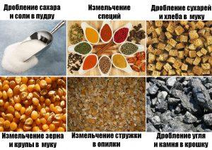 droblenie-sahara-soli-izmelchenie-specij