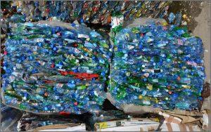 отходы пластиковых бутылок